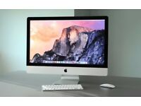 "The Best 27"" iMac, Latest OSX, Intel i5, 12GB RAM, 1TB HDD, Microsoft Office,Wireless Keyboard Mouse"