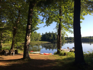 Ponhook Cabin for rent on the lake!