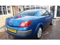 Renault Megane convertible 1.9 dci low milage blue