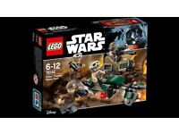 Brand New Lego Star Wars Set 75164 Rebel Trooper Battle Pack