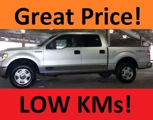 2010 Ford F-150 SuperCrew XLT Pickup Truck- LOW KMs
