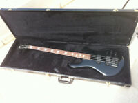 Bass Spector Euro 4LX TW Black high gloss