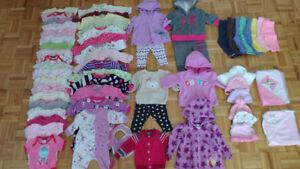 Vêtements pour fille (0 à 6 mois)
