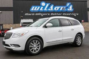 2016 Buick Enclave AWD! 7 PASS! LEATHER! SUNROOF! QUAD CAPTAIN C