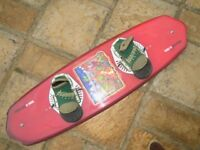 Colin Wright 137 DoubleUp Wakeboard and Bindings