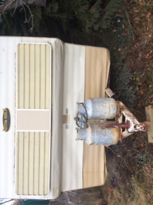 Classic holiday camping trailer