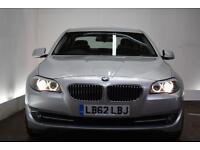 BMW 5 SERIES 3.0 530D SE 4d AUTO 255 BHP (silver) 2012