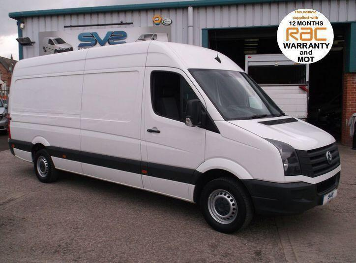 2013 13 VOLKSWAGEN CRAFTER LWB HIGH ROOF CR35 TDI 109 HP DIESEL