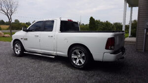 Lowered Ram 1500 Sport
