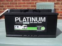 Leisure Battery 100 AMP Platinum Plus. Boats Caravan Motorhomes etc