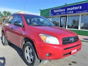 2008 Toyota RAV4 ! NEW SAFETY ! CLEAN TITLE! LOW KILOMETER!