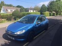 PERFECT FIRST CAR ! PEUGEOT 206LX 1.1 3dr HATCH LON MOT 2001(Y)