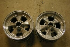 Ralley style chrome 14 inch rims