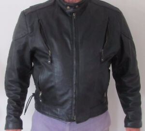Hot Leathers Men's Vented Leather Jacket