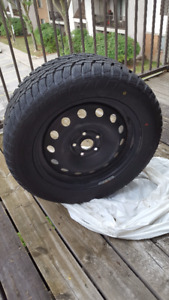 235/55/R17 Uniroyal Winter Tires + Steel Rims (Great Condition!)