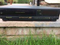 Panasonic NV-J42B SUPER 3 HEAD Video Recorder Player VCR VHS