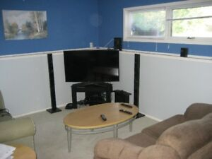 We have two furnished rooms available for rent immediately!!
