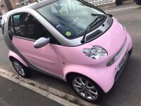 Pink Smart fortwo 0.7 City Passion 3dr Auto