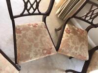 Vintage Mahogany Chairs (6) - will sell individually