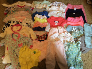3 - 6 month girl clothing