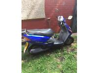 Honda Lead 100 moped scooter