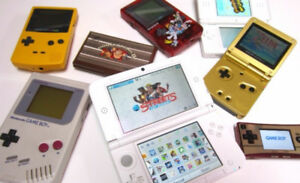 Looking for Nintendo Handhelds - Gameboy, DS, 3DS