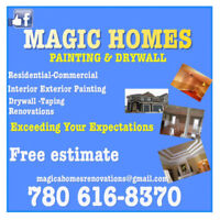 MAGIC HOMES PAINTING & DRYWALL SERVICES
