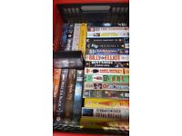 24 VHS videos Hollywood blockbusters inc. MIB, XMen, Full Monty, Billy Elliott and more