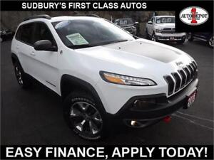 2016 Jeep Cherokee TRAILHAWK!! 4X4!! PANO!! HEATED LEATHER!!