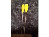 set of oars