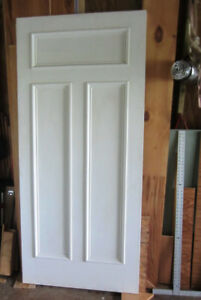 solid  white interior door 36 x 80