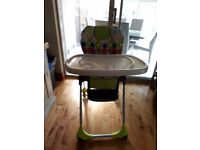Baby chicco highchair