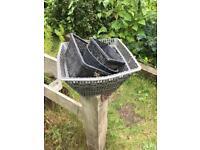 Fish pond baskets