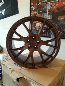 copper hellcat replica rims only
