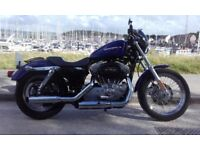 Harley Davidson XL883L Sportster Major Service last month and 12 months MOT Excellent condition