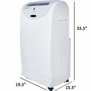 PORTABLE 11600 BTU AIR CONDITIONER climatiseur portatif mobile