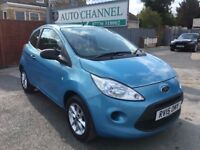Ford KA 1.2 Studio Connect 3dr£3,695 p/x welcome 1 YEAR FREE WARRANTY. NEW MOT