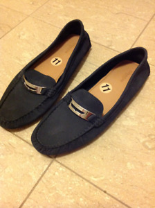 Womens COACH flat loafers