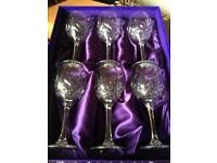 Edinburgh Crystal Wine Glasses