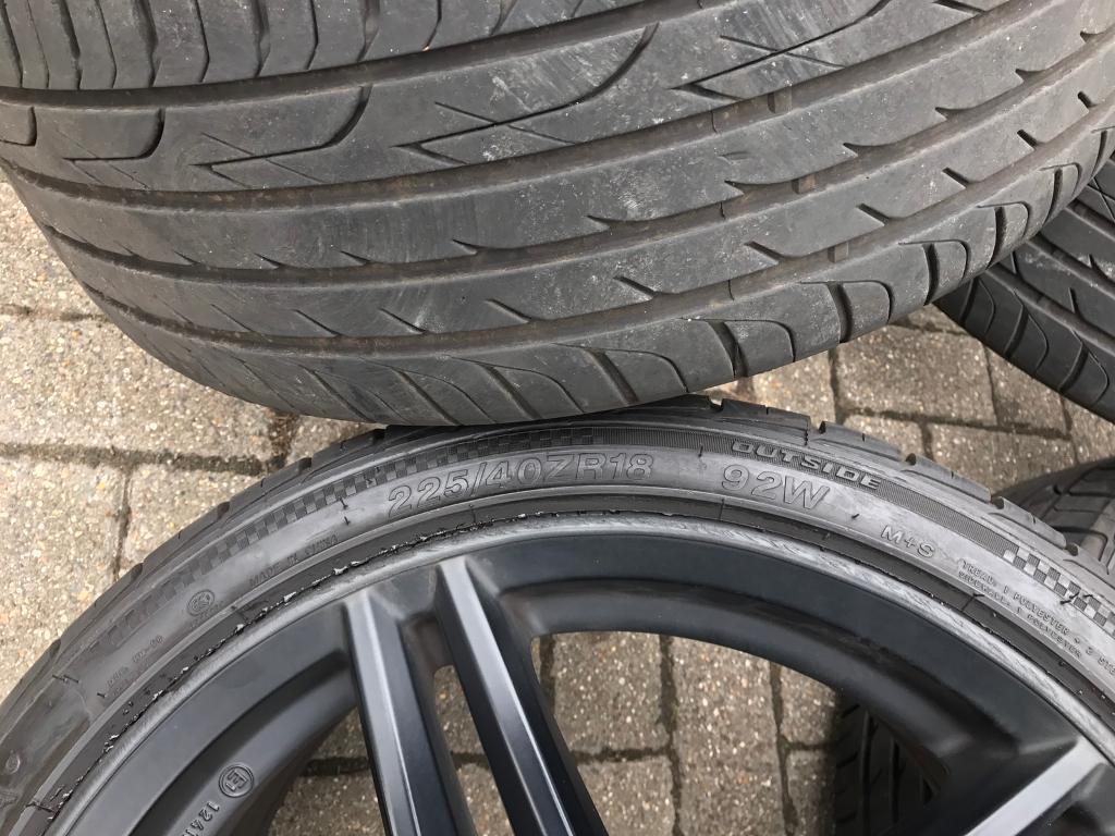 Vauxhall Astra H 5 Stud Alloy Wheel Tyres Wolfrace Black