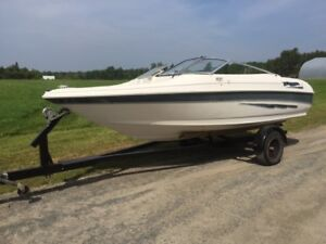 '98 Larson bowrider with 90 hp Evinrude oil injected outboard
