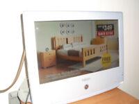 NEON 15in TELEVISION. DVD, HDMI,PC.