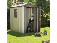 Brand new Keter shed in box 6 x 4
