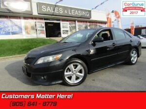 2011 Toyota Camry SE  LEATHER, SUNROOF, ALLOYS, HEATED SEATS, BL