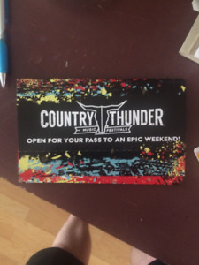Country Thunder 2017 Calgary Ticket