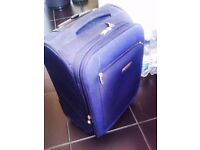 "VERY STURDY TRULY VERY GOOD QUALITY ORIGINAL ""CARLTON"" TROLLEY SUIT-CASE HAND LUGGAGE"