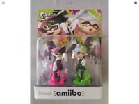 Splatoon amiibo Callie and Marie