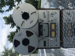Great Condition AKAI GX-630D Reel to Reel RARE vintage 4-track r