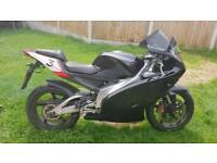 Aprilia rs 125 with 140cc itall kit brand new