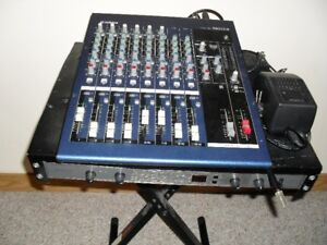 Yamaha Mixing Console MG12/4 & Phonic DFX 256 Effects